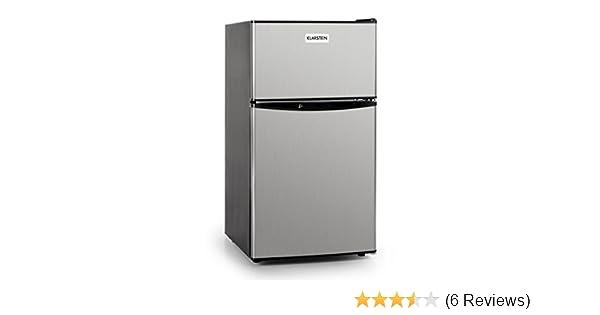 Kühlschrank Klarstein : Klarstein u edelstahl kühlschrank u freistehend edelstahl l