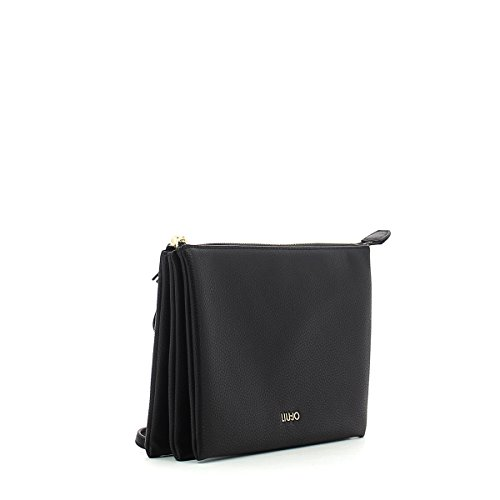 LIU.JO Donna Pochette A18186E0086 S CROSS BODY ARIZONA Nero Espacio Libre Para Agradable ab0yWTk