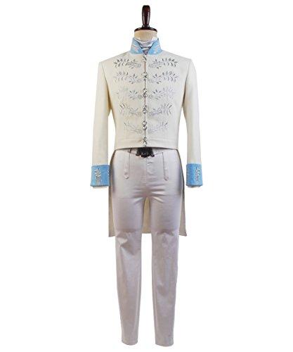 Prinz Kostüm Herren - MingoTor Prinz Prince Suit Outfit Cosplay Kostüm Herren M