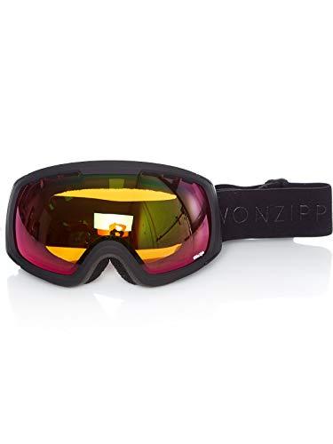 VONZIPPER FEENOM NLS maschera sci Snowboard Black Satin AI18