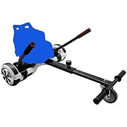 BAYZONN Silla Patinete Electrico Kart Hoverboard Hoverkart Compatible Todas Las Medidas (Azul)