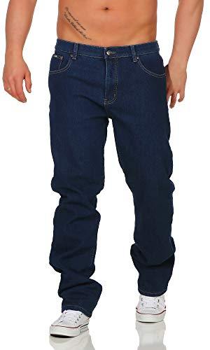 BEZLIT Herren Thermo-Hose Jeans-Hose Stretch Winter-Hosen gefuttert Regular Fit 22893, D 38(Herstellergröße: 44), Blau - Herren Thermo Hose