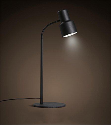 WWDP Eisen-Lampe moderne minimalistische Art und Weise Büro Schlafzimmer Studie Schreibtischlampe Tischlampe Kindertischlampe