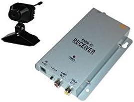 KesCom 811N Mini Color-Cámara inalámbrica Security supervisión, canal 1hasta 4disponible (No ajustable) Incluye 4canales receptor de 2,4GHz