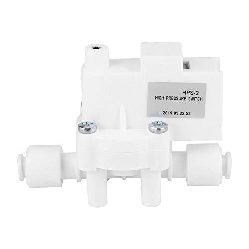 Regolatore ad alta pressione, interruttore ad alta pressione da 24 V CC da 1/4 di pollice per serbatoio di osmosi inversa da 0,25 MPa degli installatori di acqua del RO della pompa