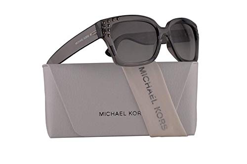 Michael Kors MK2066 Banff Sunglasses Grey Crystal w/Grey Gradient Lens 55mm 334511 MK 2066
