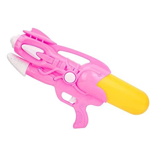 Alomejor Wasserpistole Kinder Wasser Soaker Pistole Spielzeug für Kinder Outdoor Beach Pool Party Game(Rosa)