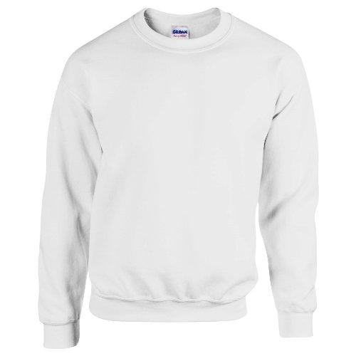 Gildan Herren Sweatshirt Heavy Blend 18000 Ash L Ash Pullover Hoodie