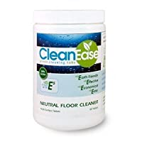 Clean Ease Eco-Friendly Floor Cleaner: 60 Tablets Make up to 240 Gallons of Floor Cleaning Solution