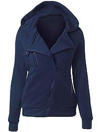 9546069a9e Amazon.it: giacca militare donna - Felpe con cappuccio / Felpe ...