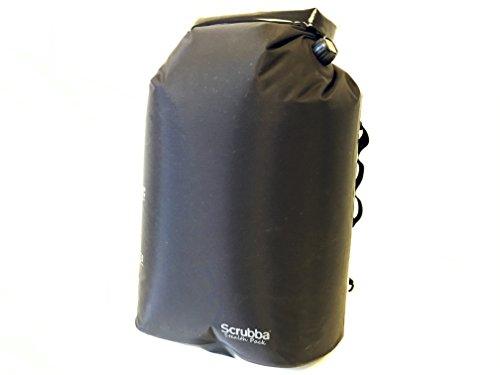 Scrubba Stealth Pack – 3in1 wasserdichter Rucksack, tragbare Waschmaschine und Campingdusche in einem Daypack (Bag Wochenende Wash)