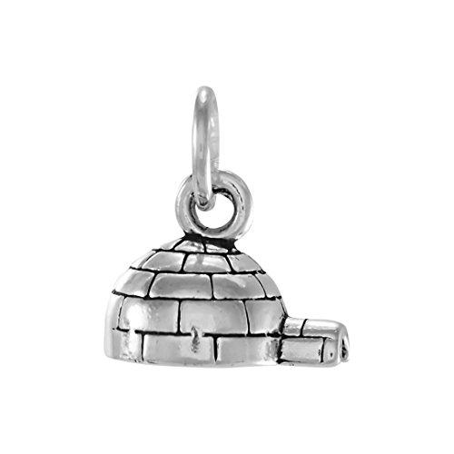 ciondolo-in-argento-sterling-con-igloo-per-donna