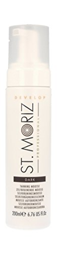 St. Moriz Professional Selbstbräunungs-Mousse Dark, 1er Pack (1 x 200 ml)