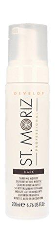 St. Moriz Professional Selbstbräunungs-Mousse Dark, 1er Pack (1 x 200 ml) -