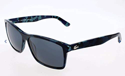Lacoste Unisex-Erwachsene L705S Sonnenbrille, Schwarz, 55