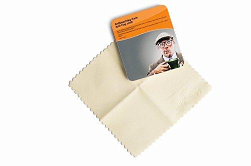 Anti-Beschlag Tuch für Augengläser Schutzbrille 1 Stück 50 Anwendungen pro Tuch