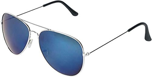 Rock Eyewear Blue Mirror Aviator Sonnenbrille blau