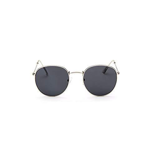 MINGW Classic Round Sunglasses Women Men Sun Glasses for Women Alloy Mirror Sunglasses Ray Female