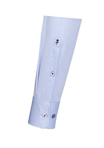 Seidensticker - Herren Hemd, Bügelfrei, Modern, Splendesto mit Kent Kragen in verschiedenen Farben (01.111846) Hellblau(12)