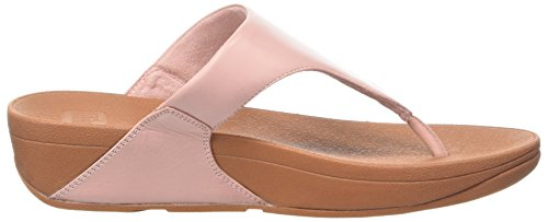 Fitflop Lulu Toepost, Infradito Donna Rose (rose Sombre)