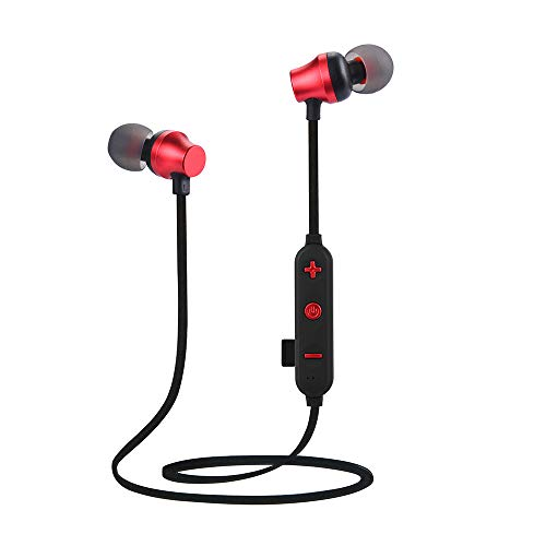 OPAKY Drahtlose Bluetooth TF-MP3-Flash-Speicherkarte SD-Karte 4.2 Stereo-Sportkopfhörer,für iPhone, iPad, Samsung, Huawei,Tablet usw.