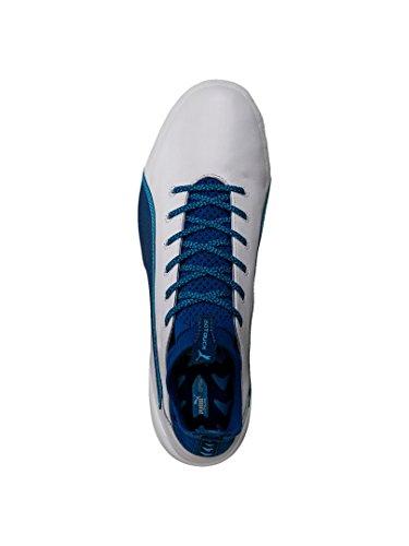 Puma Evotouch 1 Ag, Scarpe da Calcio Uomo bianco / blu
