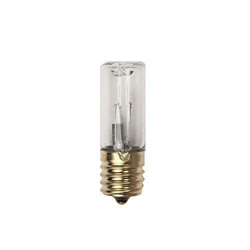 Star Eleven 3W E17UV-Lampe Sterilisator UV-Licht Glühbirne 17V UV-C Ersatz-Glühbirne Ozon Sterilisieren keimtötende Quarz Lampe (Lampe Uv Keimtötende)