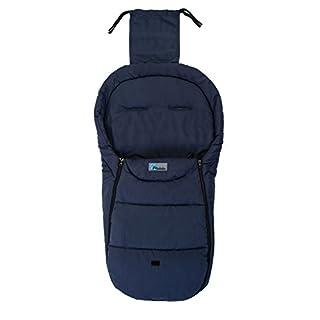 Altabebe AL2450MB-01 Sommerfußsack für alle gängigen Kinderwagen, Buggys und Jogger, Basic, 12-36 Monate, marine blau