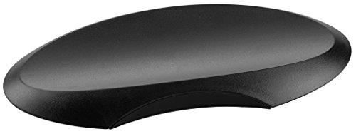Preisvergleich Produktbild HAN Ablageschale DELTA 1750-13 für Stifte – Formschöne ovale Stiftablage aus hochwertigem Kunststoff – Elegantes Büro Zubehör in Schwarz