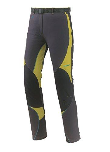 Trango Damen Hose Pants LARGO MAWENZI, 8433849407969 Grau/Gelb