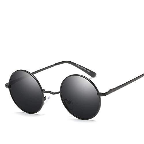 MJ Glasses Sonnenbrillen Polarisierte Retro-UV-Anti-Universalbrille, B