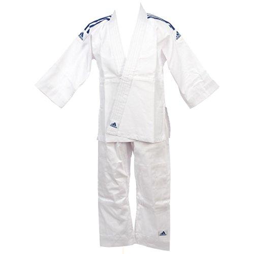 adidas - Tenue Kimono de judo Evolution (avec ceinture blanche) J200 T130/140- ADIJ200E