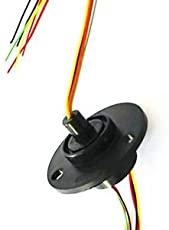 SLB Works Brand New 12.5mm 300Rpm 6 Wires CIRCUITSx2A Capsule Slip Ring AC 240V for Monitor Robotic
