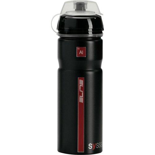 eLITe Syssa Trinkflasche, schwarz, one Size