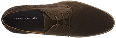 Tommy Hilfiger Men's Essential Suede Lace up Derby Oxfords by Tommy Hilfiger