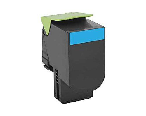 Preisvergleich Produktbild LEXMARK 800X2 Toner cyan Extra hohe Kapazität 4.000 Seiten 1er-Pack