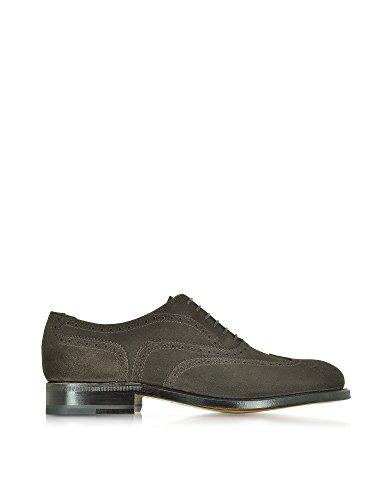 Moreschi Homme 41524162WINDSORDKBROWNSDM6 Marron Suède Chaussures À Lacets