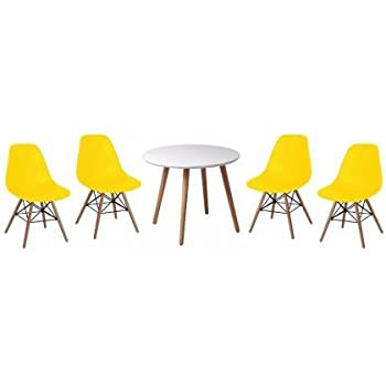 eames style chairs uk. (greenheart furniture uk \u0026 ireland) little rascals round table 4 chairs eiffel designer eames style uk