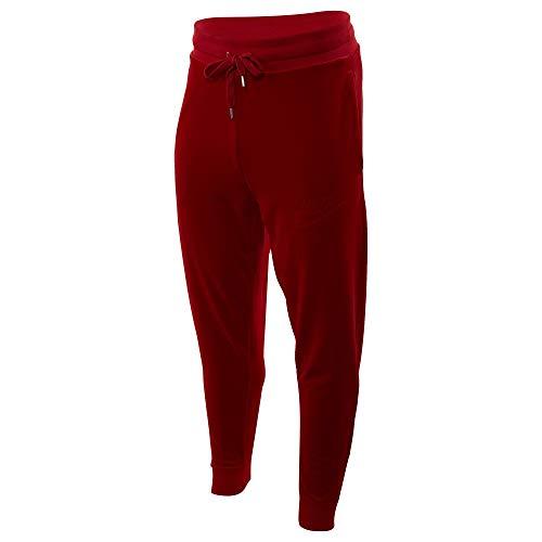 Nike Herren Sportswear Velour Pants - rot - X-Groß (Herren Velour Jogger)
