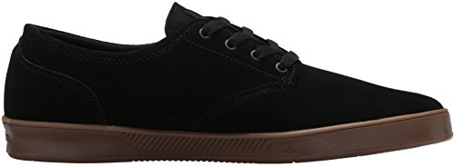 Emerica The Romero Laced, Herren Skateboardschuhe Black Charcoal Gum