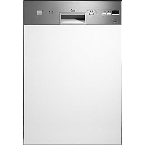 Teka DW8 45 S - Lavavajillas (Totalmente integrado, Acero inoxidable, Botones, 46 Db, A, 65 °C)