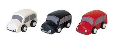 PlanToys - PT6023 - Jouet en bois - Véhicule - Camionnettes