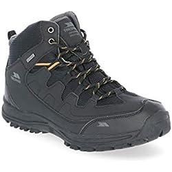 Trespass Finley, Chaussures de Randonnée Hautes Homme, Noir (Black Blk), 43 EU