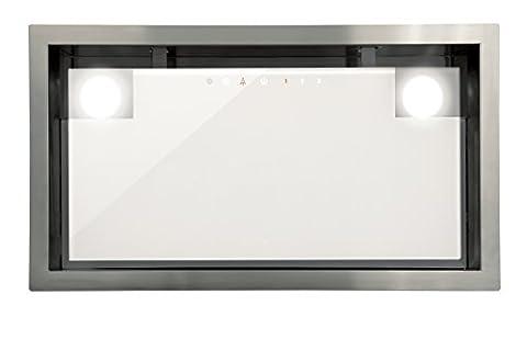 Luxus Lüfterbaustein Cata Edelstahl Weißgas für 90cm Schrank/ 1050m³/h Sehr Saugstarker und Leiser Brushless - Motor /Dunstabzugshaube mit TouchControl Steuerung /EInbaulüfter mit 5 Stufen/EInbauhaube Inklusive Turbostufe/Abzugshaube mit ECO LED-Beleuchtung/Timer/Ablufthaube/Umlufthaube/Spülmaschinengeeigneter Metall-Fettfilter/Filtersättigungsanzeige/Europäische Spitzen Marke seit 1947/ UVP 599EUR