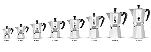 Bialetti - Cafetière Moka Express - 6 tasses - 30cl - Pratique et Rapide -Tous Feux sauf Induction
