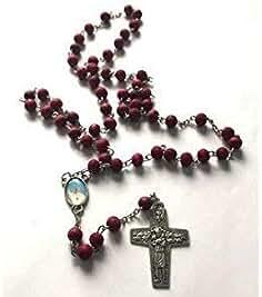 1b4c09f41a55 IMPACTO COLECCIONABLES Rosario del Papa Francisco