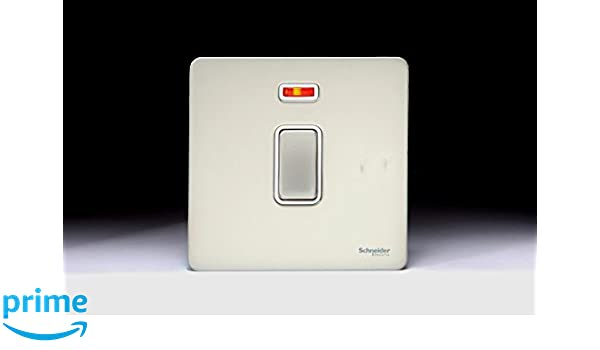 EXCLUSIVE PROMOTION Screwless Flat plate 20 Amp DP Switch with Neon