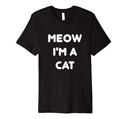 (Meow Katze Halloween-Kostüm T-Shirt)