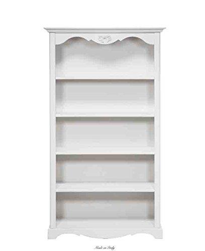 Libreria alta in legno L'ARTE DI NACCHI disponibile in diverse rifiniture 4976/GB