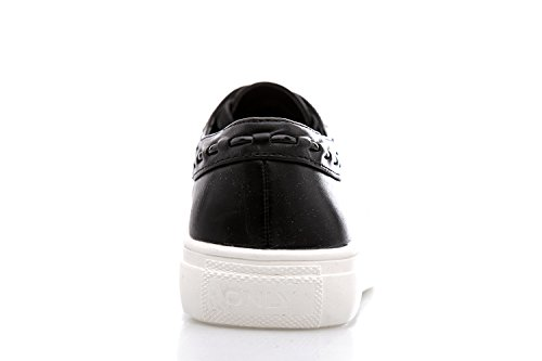 ONLY - Femme chaussure sneaker sage braided Noir